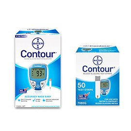 Bayer Contour Diabetes Monitoring Strips product image