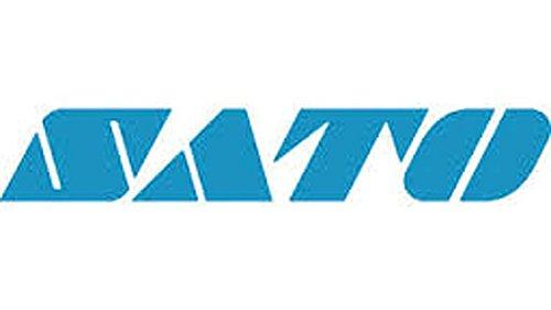 SATO America 12S000111 Industrial Premier II Wax-Resin Ribbon 375 Inches x 1345 Feet - 25 Rolls per Case