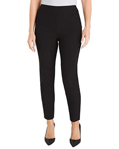 Chico's Women's So Slimming Brigitte Slim Ankle Pants Size 18 XL (3.5 REG) Black