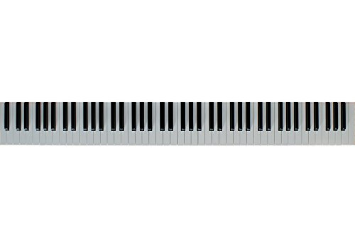 Home Comforts LAMINATED POSTER Keys Isolated Piano Piano Keyboard Music Keyboard Poster by Home Comforts (Image #1)
