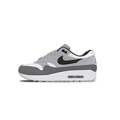 NIKE Men's Air Max 1 Shoe Black/White/Wolf Grey (12 D(M) US)