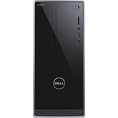 Dell Newest Inspiron High Performance Desktop, AMD Quad-Core A8, 8GB RAM, 1TB HDD, Radeon R5 Graphics, SuperMulti DVD, Win10 Pro (Keyboard and Mouse Included)