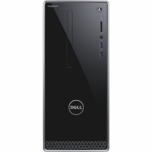 - Dell Newest Inspiron High Performance Desktop, AMD Quad-Core A8, 8GB RAM, 1TB HDD, Radeon R5 Graphics, SuperMulti DVD, Win10 Pro (Keyboard and Mouse Included)