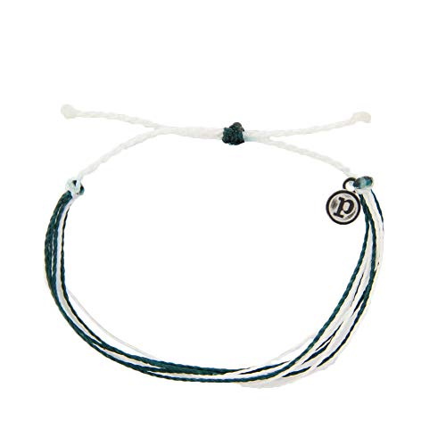 Pura Vida Alzheimer's Awareness Bracelet - Waterproof, Artisan Handmade, Adjustable, Threaded, Fashion Jewelry for Girls/Women