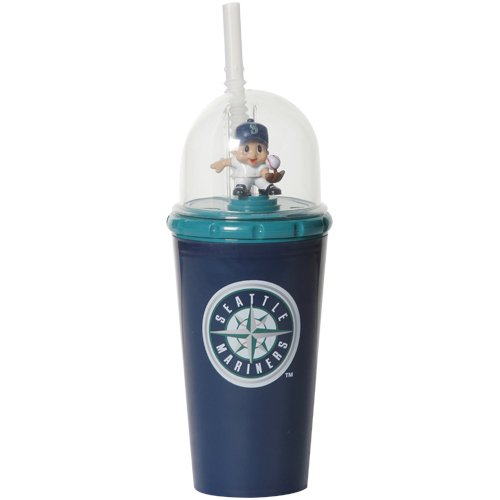 MLB 8' Wind Up Mascot Sippy Cup (Set of 2) MLB Team: Seattle Mariners