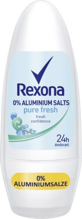 Rexona Pure Fresh Deodorant Roll-On Aluminium Free 50 ml / 1.7 fl oz