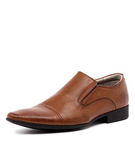 Slip Shoes JM33 33 On Tan Smooth CORY Tan Dress Mens ttPqA0