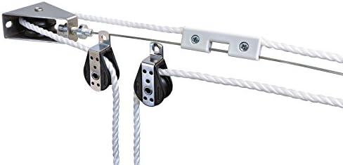 """Windhager Set de Montaje polipasto"""" Sistema de tracción por Cuerda ..."""