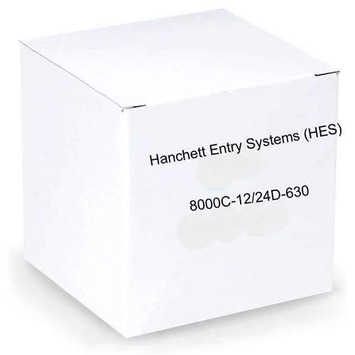 HES 10720403 Faceplate for Electric Strike 8000 Series Complete Pac (8000c) for Cylindrical Locksets in Metal, Concealed, Satin Stainless by HES (Image #1)