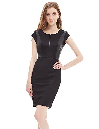 Ever-Pretty HE05306BK12 - Vestido para mujer Negro