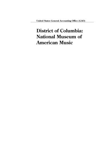 District of Columbia: National Museum of American Music