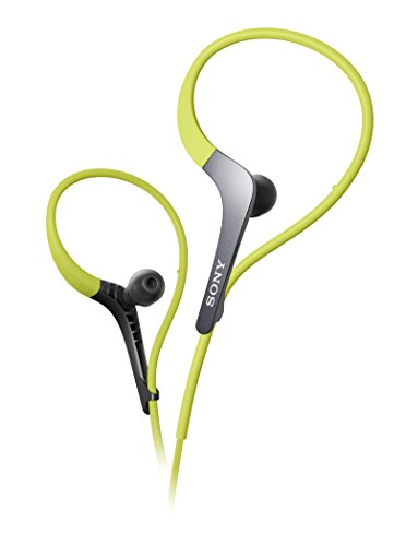 Sony MDR-AS400EX/G Sports Headphones with Adjustable Ear Loo