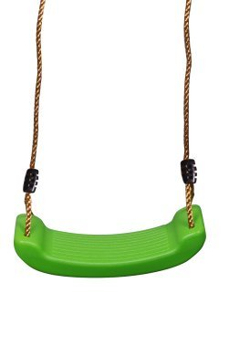 Hard Single Set - Summersdream Rigid Hard Seat Lime Green Child Swing Playground Swing Set Accessories Replacement