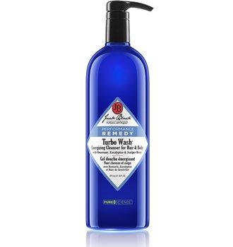 Jack Black Turbo Wash Nettoyant énergisant pour cheveux et corps, 33 fl. oz