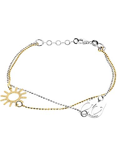Invicta Silver .925 and Yellow Gold-tone Bracelet J0263 ()