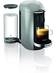 Nespresso VertuoPlus Deluxe Coffee and Espresso Maker by Breville, Silver