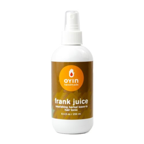 Oyin Handmade Frank Juice Nourishing Herbal Leave-in Hair Tonic 8.4 Oz (Oyin Juices And Berries Nourishing Herbal Leave In)