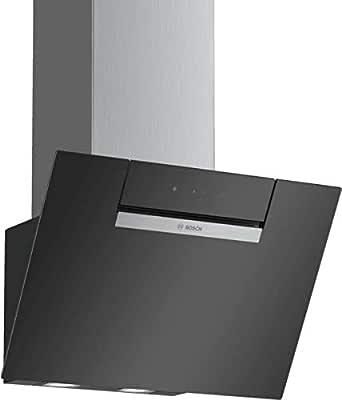 Bosch DWK67EM60 Serie 2 Wandesse/B / 60 cm/Negro/opcional de circulación o de aire/Funcionamiento TouchSelect/Control Intensivo/Filtro de grasa de metal (apto para lavavajillas): Amazon.es: Grandes electrodomésticos