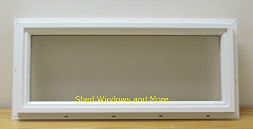 - Transom Window 12 x 24 Double Pane Insulated