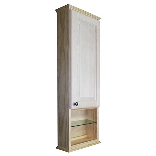 Bath Curio Cabinet (Wood Cabinets Direct 42