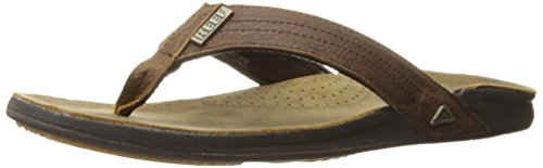 - REEF Men's J-Bay III Sandals, Camel, 11