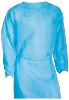 Disposable Isolation Gown Level 2 Qty: 50 per Case (Blue) Size: X-Large