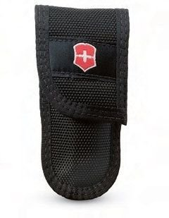 Victorinox Lockblade Cordura Belt Pouch, Black (Belt Icon Black)
