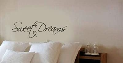 Dailinming Modern Wall Sticker Sweet Dreams Vinyl Art Mural Wall Quote Saying decals 56X20CM