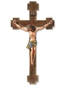 "13"" Cruci Fixus De Espagna Crucifix Resin -- 13"" H"