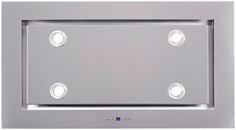 Campana extractora F.BAYER Lux 120 x 56 cm acero inoxidable LED EEK A 925 m²/h: Amazon.es: Grandes electrodomésticos