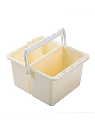 MEEDEN Art Supply Large Paint Brush Washer for Watercolor Acrylic Oil Painting Holder with Handle