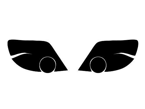 Rtint Tail Light Tint Covers for Subaru Impreza / WRX 2004-2005 (Wagon) - Blackout Smoke (Impreza Wagon Wrx)