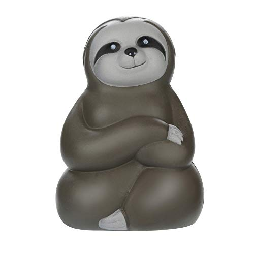 BXzhiri Adorable Squishies Toy, Decompression Toy Soft Sloth Slow Rising Fruit Scented Stress Relief Gifts for Boys and Girls]()