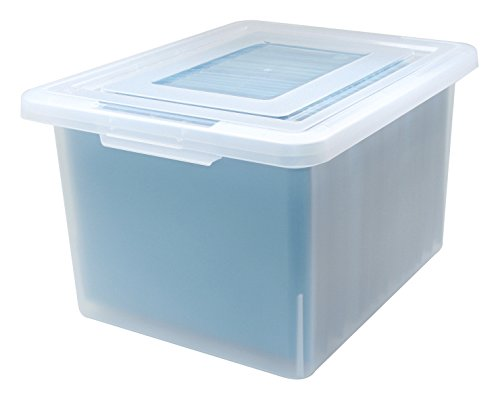 - File Storage Box in Clear