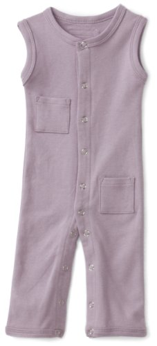 L'ovedbaby Unisex-Baby Infant Sleeveless Overall, Lavender, Newborn (up to 7 lbs.)