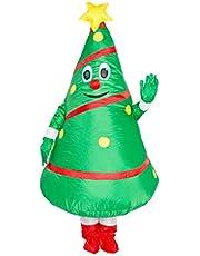 Kerstboom Kostuum Opblaasbare Kerstboom Kleding Party Blow Up Cosplay Kostuum Hulpprogramma