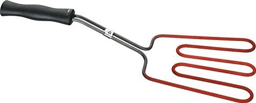 DeliaWinterfel Encendedor de carbón eléctrico para barbacoas | 800 W| Mango Aislado | para Chimenea Parrilla Barbacoa