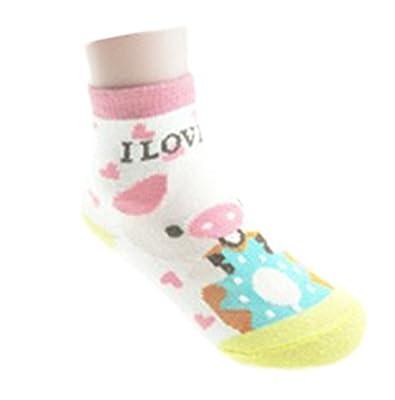 10 Pair Non Slip Socks for Toddlers by Bienvenu