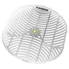 vectair sistemas bcv163-yl V urinario Protector de, amarillo, cí tricos, mango transparente luz gris (Pack de 12) cítricos Vectair Systems
