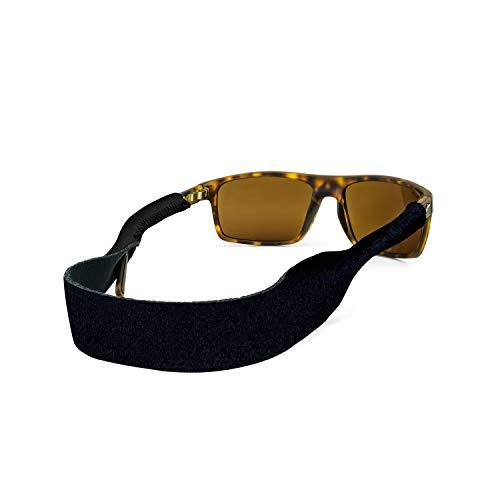 Croakies XL Croakies Sport Eyewear Retainer (16 Inches, Black) (Sonnenbrille Croakies)