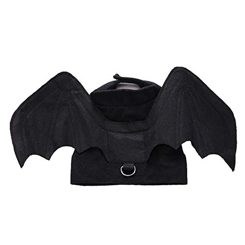 S-Forward Pet Supply - Animal Pet Dog Vest Clothes Cat Bat Vampire Halloween Fancy Dress Costume Outfit Wings Puppy Apparel]()