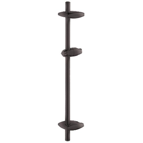 Grohe 28 723 ZB0 24-Inch Shower Bar with Swivel Hand Shower Holder, Oil Rubbed ()