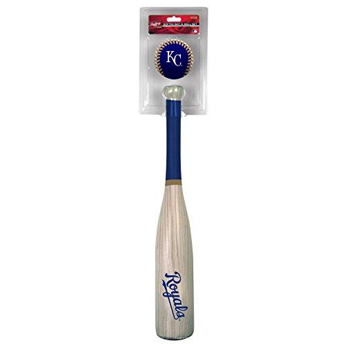 - Rawlings MLB Kansas City Royals Grandslam Bat and Ball, Blue