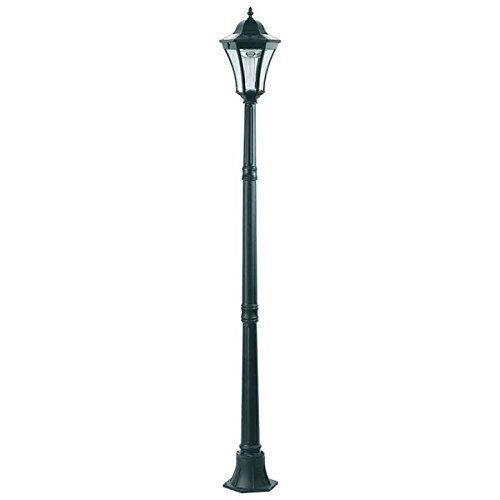 アルミス LEDガーデンソーラーライト アルミ製ポストランプ 1灯 APL-H1CG B01H4TAS4W 23705