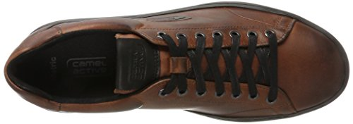 camel active Herren Metric 11 Sneaker Braun (Chestnut)