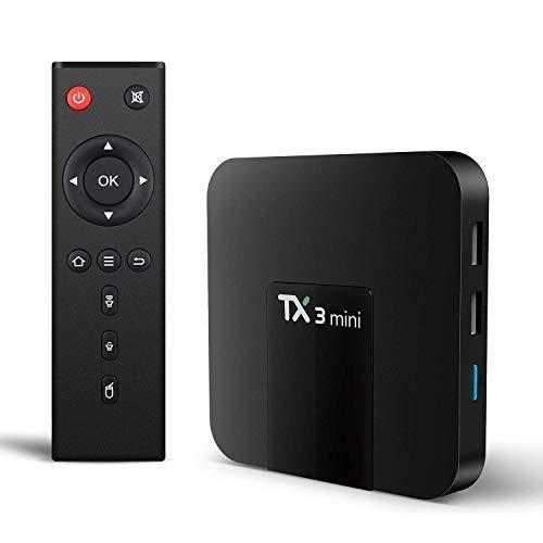 Android TV Box, TX3 Mini Android 7 1 2 TV Box Quad Core 64 Bits Support  WiFi 100M LAN Smart TV Box 4K 3D HDR IPTV Media Player