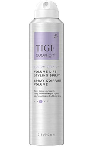 TIGI COPYRIGHT CUSTOM COMPLETE VOLUME LIFT STYLING SPRAY - 8oz (Volume Styling Spray)