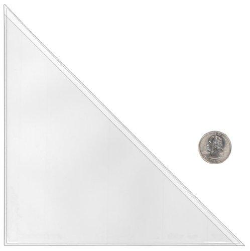 StoreSMART - Peel & Stick Corner Pocket - 7'' x 7'' - 25 Pack - STB2667-25
