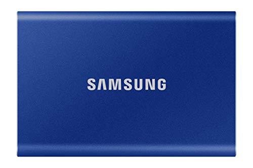 Samsung T7 Portable SSD - 500 GB - USB 3.2 Gen.2 Externe SSD Indigo Blue (MU-PC500H/WW)