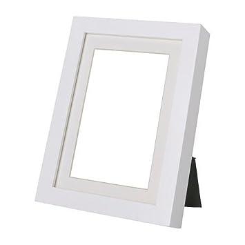 Ikea RIBBA Rahmen In Weiss 21x30cm Holz White 36 X 26